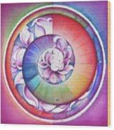 Seed Of Life - Mandala Of Divine Creation Wood Print