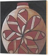 Seed Pot Wood Print