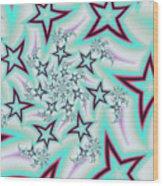 Seeing Stars Wood Print