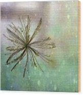 Seen In The Wind Wood Print