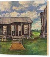 Seep Ridge On Sunday Wood Print
