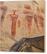 Sego Petroglyphs Utah 3 Wood Print