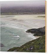 Seilebost Beach Wood Print