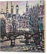 Seine Wood Print