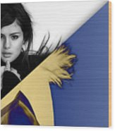 Selena Gomez Collection Wood Print