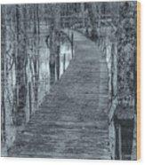 Selenium Boardwalk  Wood Print