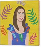 Self Portait Wood Print