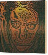 Self Portrait Wood Print