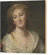 Self-portrait Of The Artist Wood Print