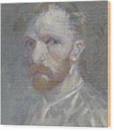Self-portrait Paris, July   August 1887 Vincent Van Gogh 1853  1890 Wood Print
