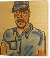 Self Portrait Wood Print