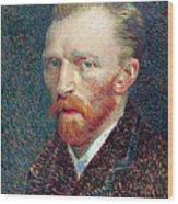Self Portrait Vincent Van Gogh Wood Print