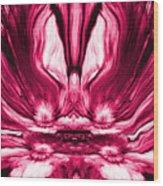 Self Reflection - Pink Wood Print