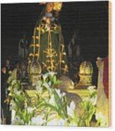 Semana Santa Procession Night Wood Print