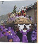Semana Santa Procession V Wood Print