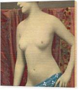 Semin Nude Girl Wood Print