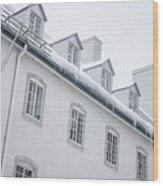 Seminary Of Quebec City In Old Town Wood Print