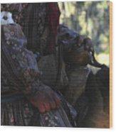 Seminole Horseman Wood Print