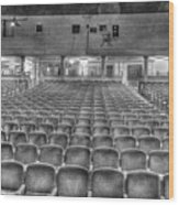 Senate Theatre Seating Detroit MI Wood Print