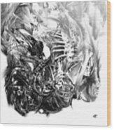 Senescence 7 Wood Print