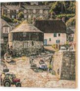 Sennen Cove Cornwall Wood Print