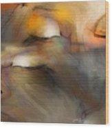 Senses Wood Print by Bob Salo
