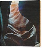 Sensual Curves Wood Print