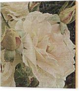 Sensual Kiss Of Yesteryear Wood Print