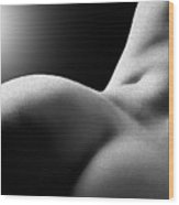 Sensual Sinuosity Wood Print
