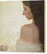 Sensual Woman Wood Print