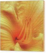 Sensuous Lily Wood Print