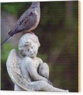 Sent From Heaven Wood Print