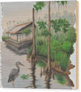 Sentinal Wood Print
