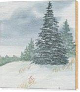 Sentinel Spruce Wood Print