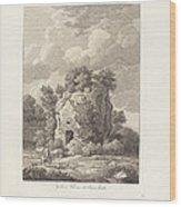 Sepolcro A Falerium Citt? Etrusca Ditrutta Wood Print
