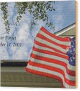 September 11 Wood Print