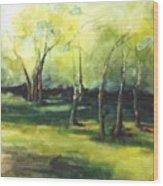 September At Mac O Cheek Wood Print