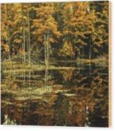 September Eve Wood Print