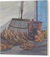 September Song Wood Print