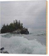 September Storm #5 Wood Print
