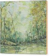 September's Silence  Wood Print
