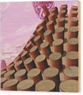Sequoiadendron Nemus Wood Print