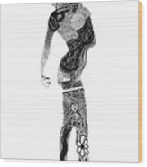 Serafina Wood Print