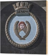 Seraph Wood Print