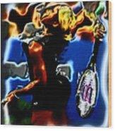 Serena Williams Thermal Catsuit Wood Print