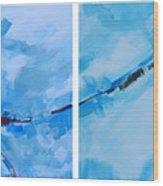 Entangled No.7 - Abstract Painting Wood Print