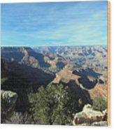 Serene Canyon Wood Print