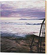Serenity At Portlock Wood Print