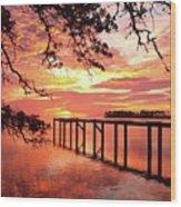 Serenity Captured Wood Print
