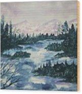Serenity IIi Wood Print